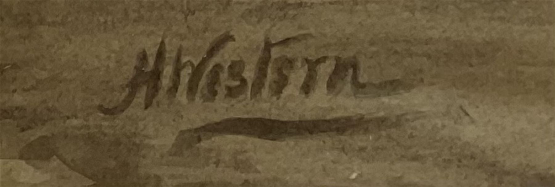 Henry Western (British 1877-?): 'Washing Day' - Image 3 of 4