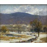 Arthur James Emery Powell (American 1864-1956): Winter Landscape