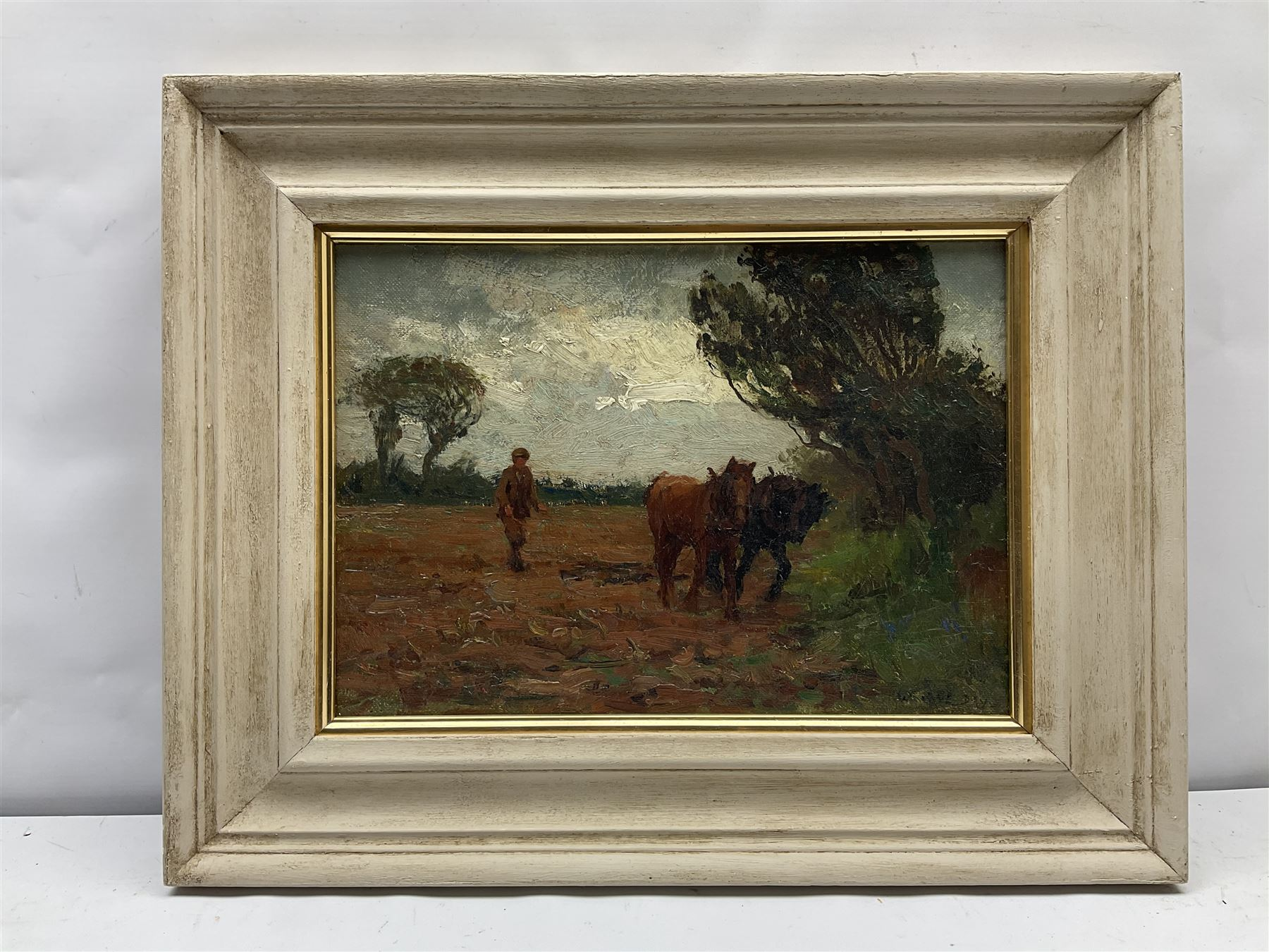 William Cave Day (British 1862-1924): Ploughing - Image 2 of 6