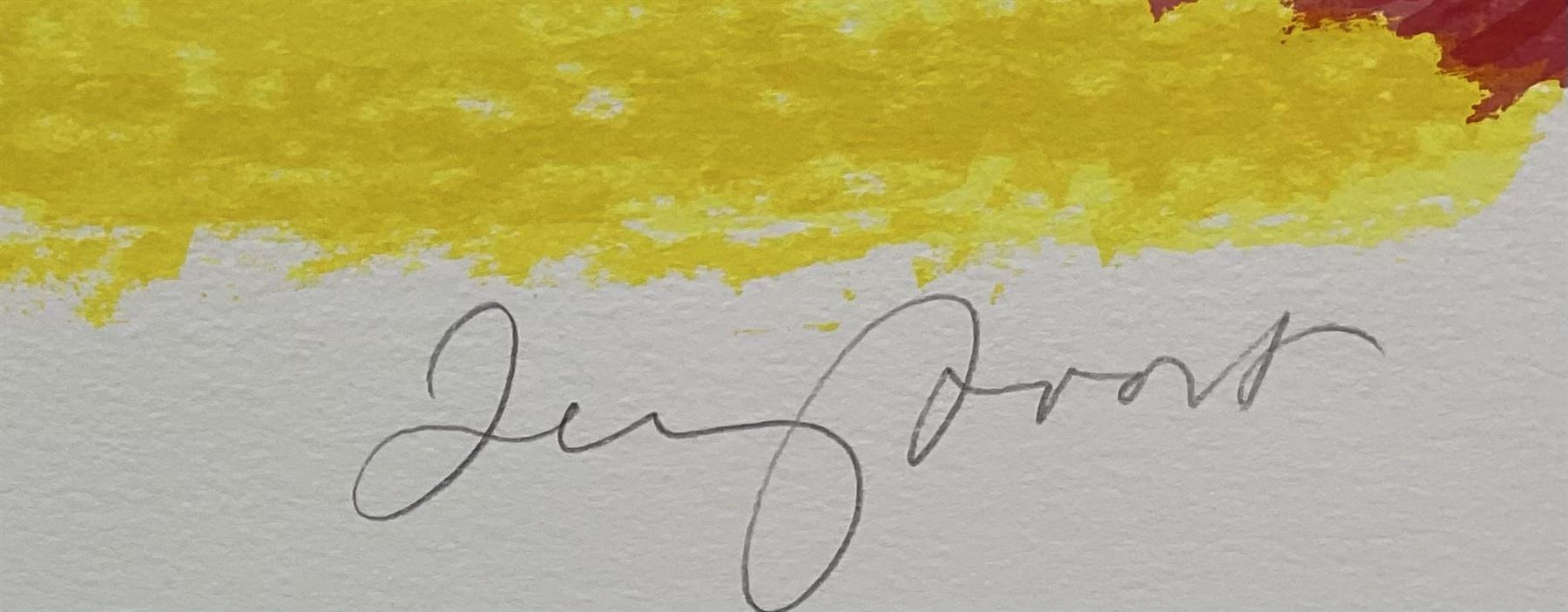 Sir Terry Frost RA (British 1915-2003): 'Orange Sun Newlyn' (Kemp 206) - Image 2 of 3