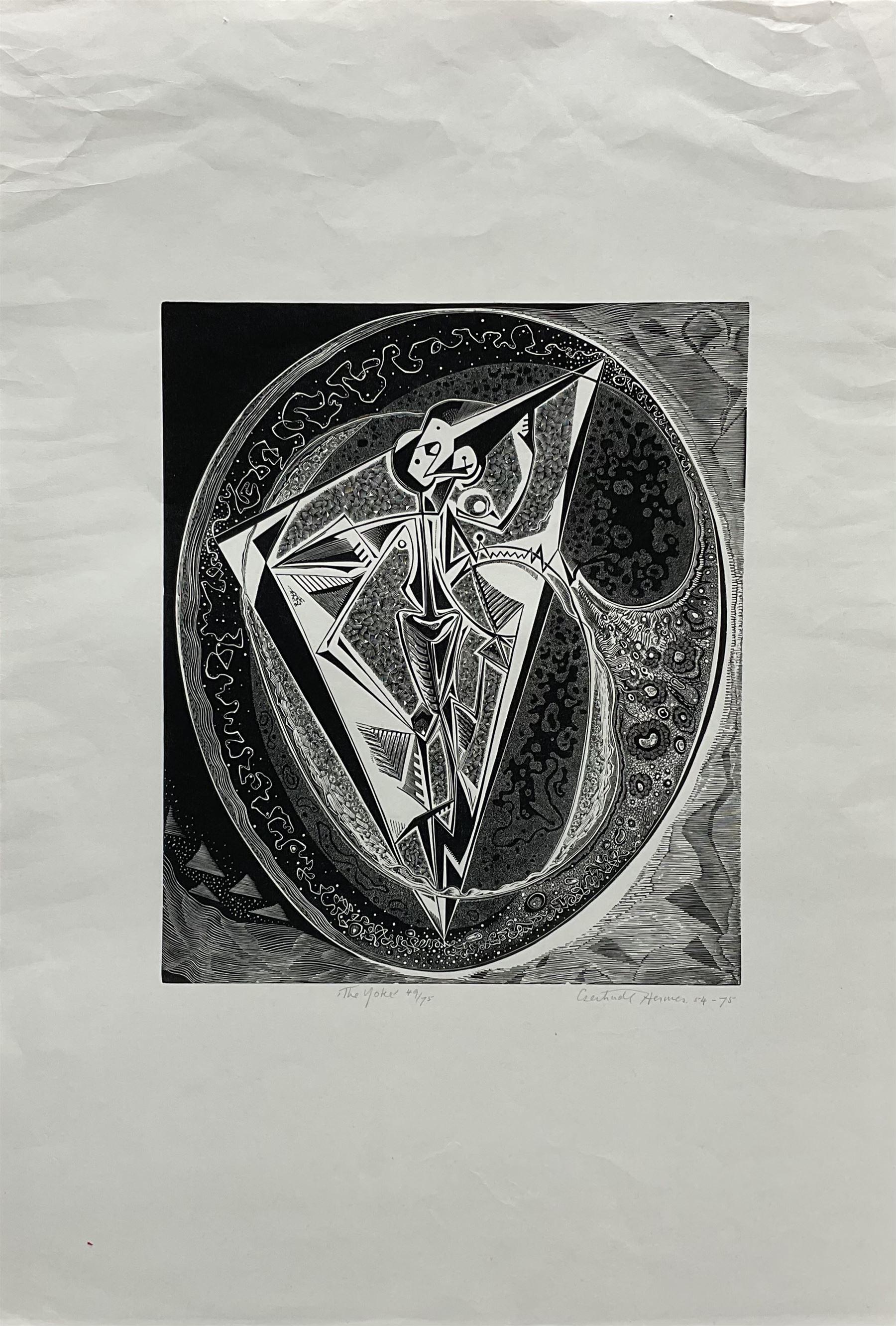 Gertrude Hermes OBE RA (British 1901-1983): 'The Yoke'