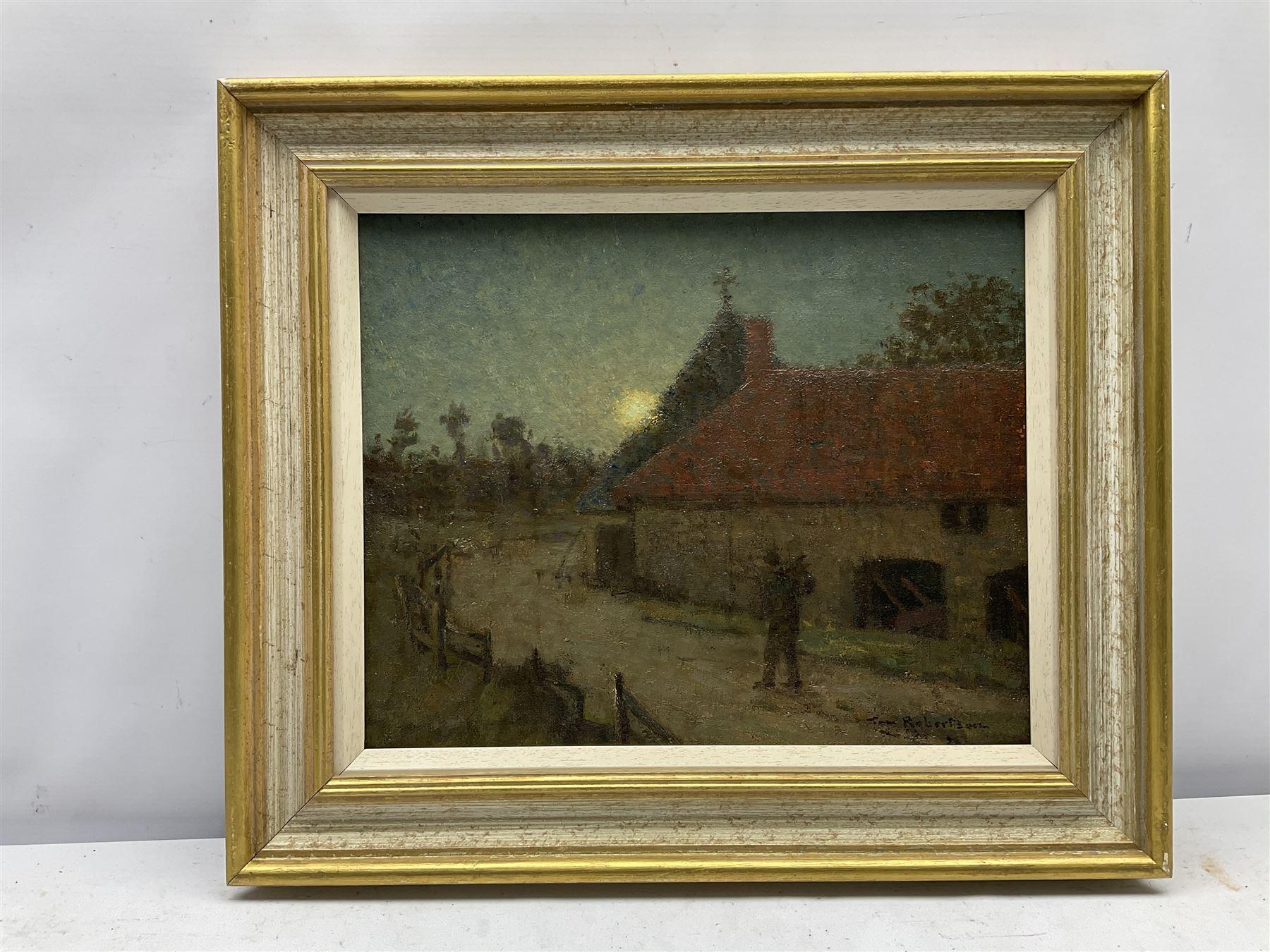 Tom Robertson (Scottish 1850-1947): 'On The Tramp' - Image 2 of 4