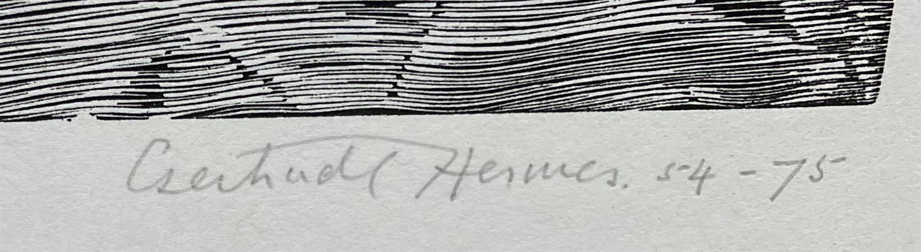 Gertrude Hermes OBE RA (British 1901-1983): 'The Yoke' - Image 2 of 3