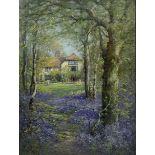 Alfred Fontville De Breanski Jnr. (British 1877-1945): 'The Home at the Edge of the Wood'