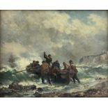 Bernard Finegan Gribble (British 1873-1962): To the Rescue