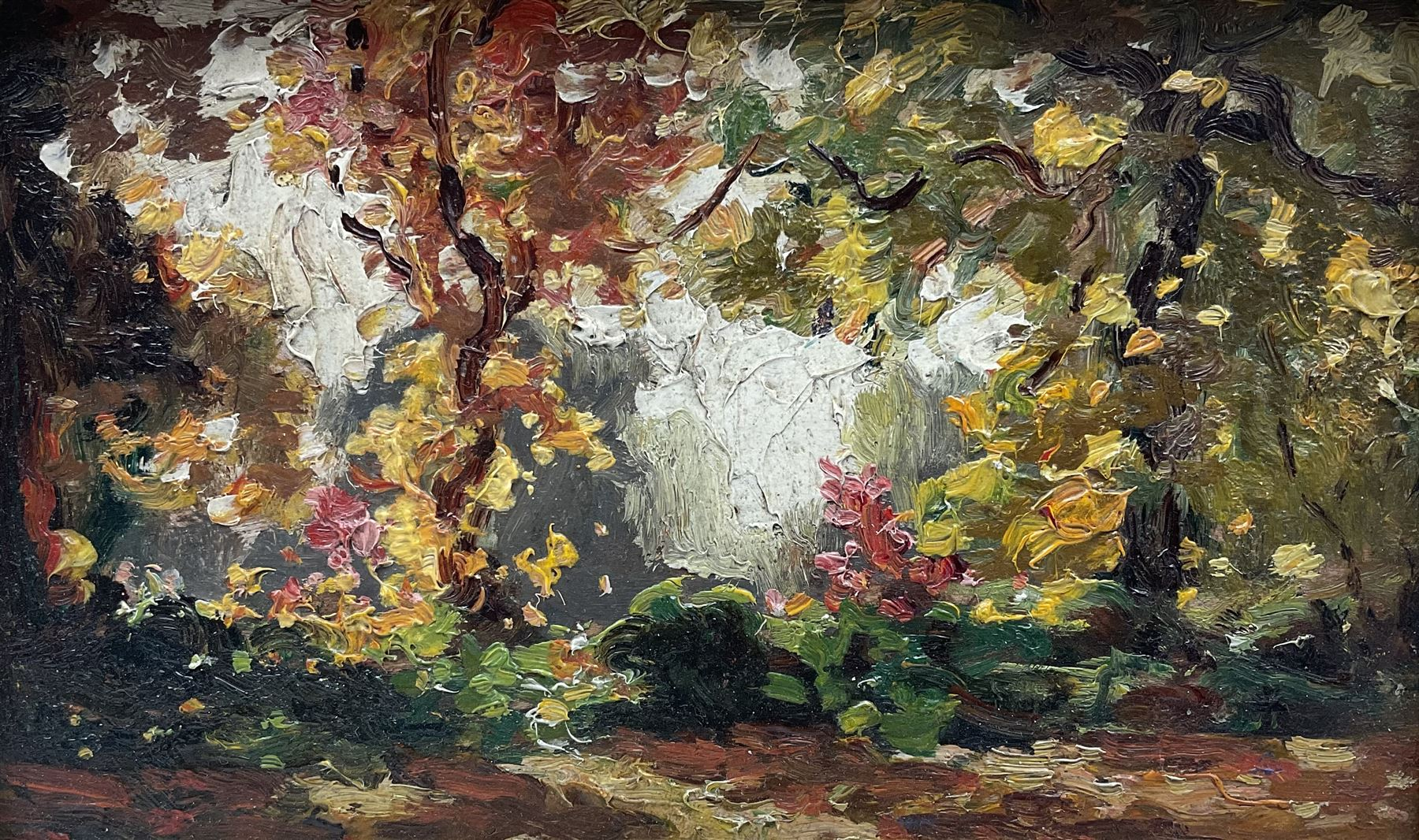 Attrib. James W Ferguson (Scottish 1916-1963): Wooded Garden