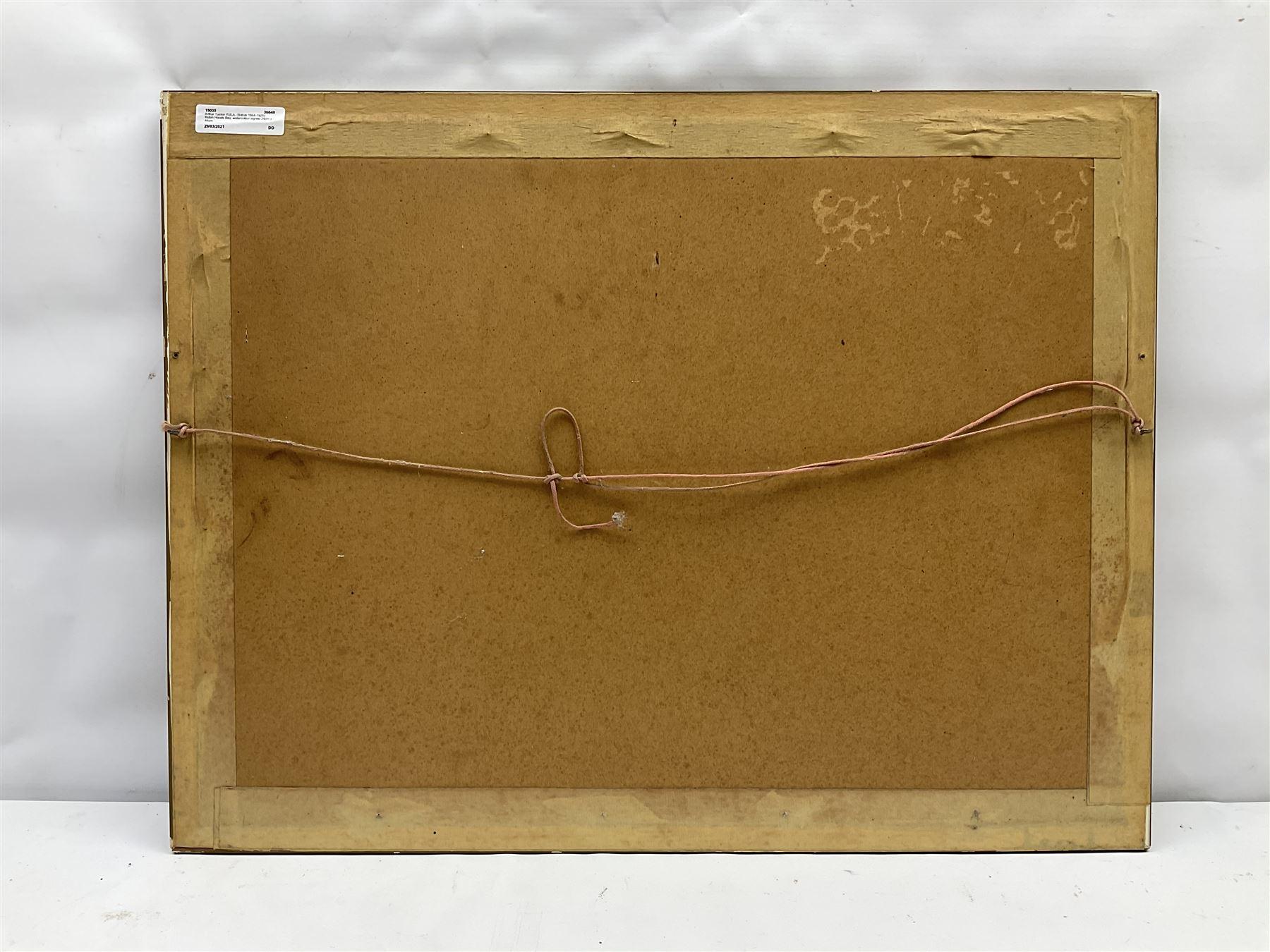 Arthur Tucker R.B.A. (British 1864-1929): Robin Hoods Bay - Image 4 of 4