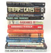 Fourteen books of military interest including The Polar Bears by Patrick Delaforce