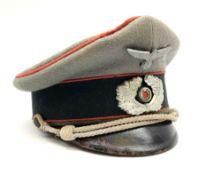 WW2 German Army Artillery officer's peaked cap