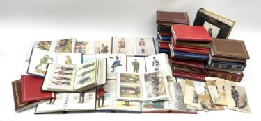 Approximately one thousand predominantly modern postcards of military interest including soldiers