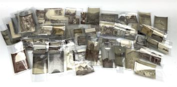 Ninety-two original photographs of the British Army in India during WW1 including march from