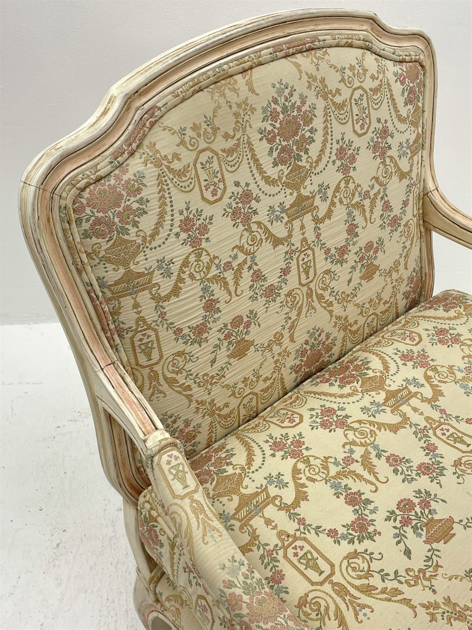 French style armchair - Image 4 of 6