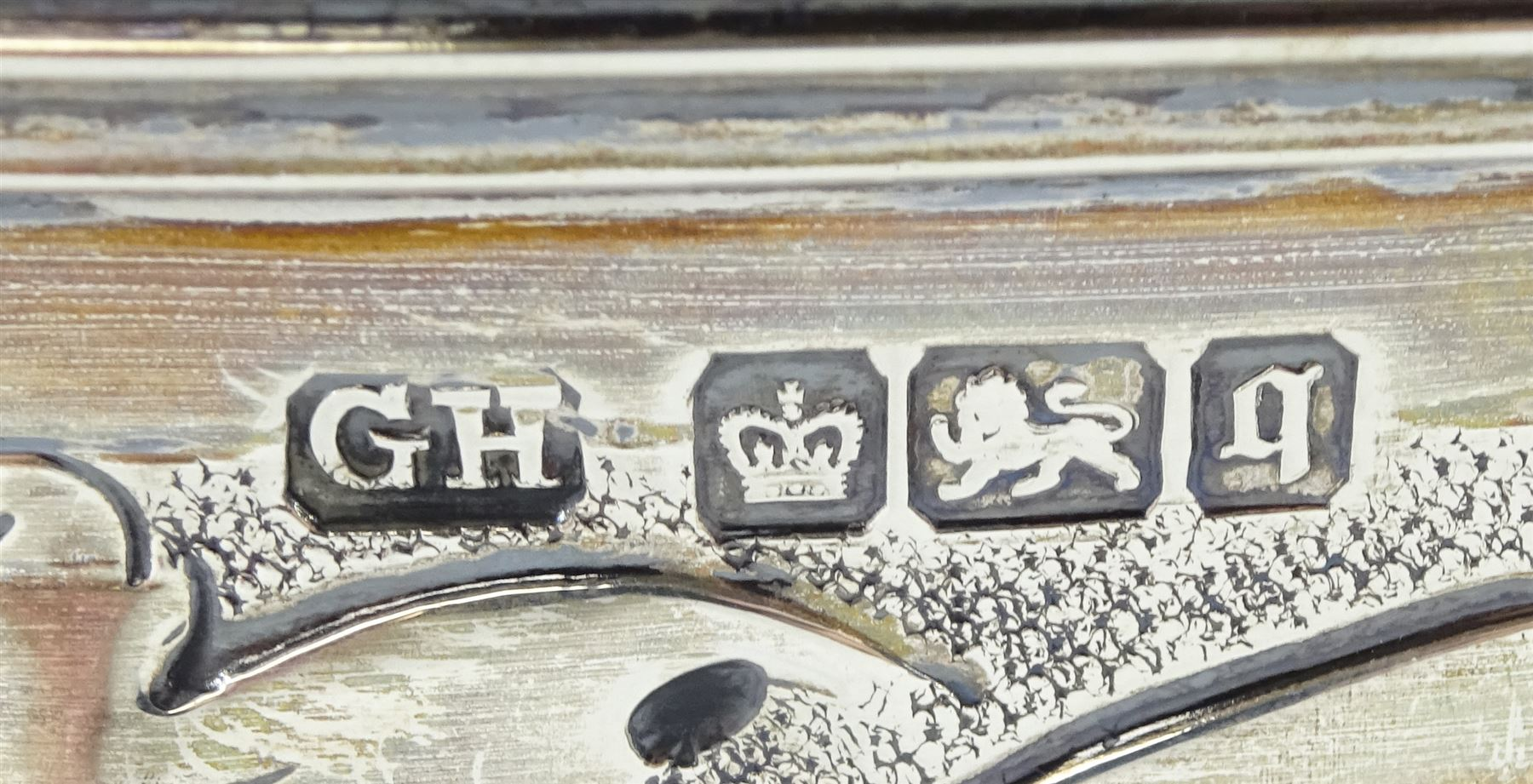 Edwardian silver footed bowl - Image 2 of 2