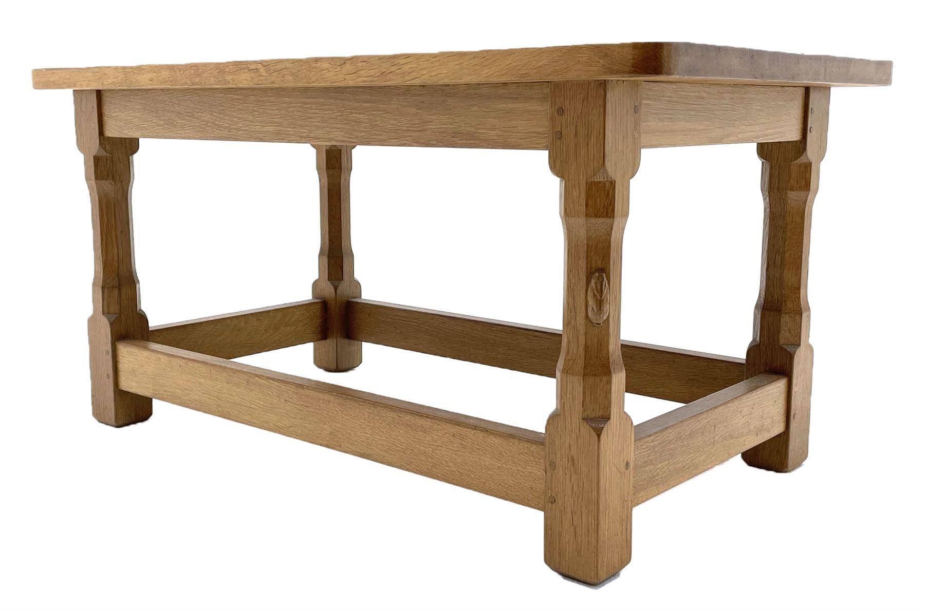 'Rabbitman' oak coffee table