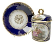 Berlin cabinet chocolate cup and saucer