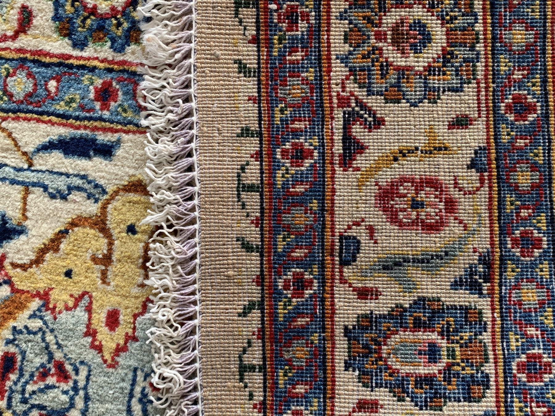 Large Fine Persian Kashan rug - Image 10 of 11