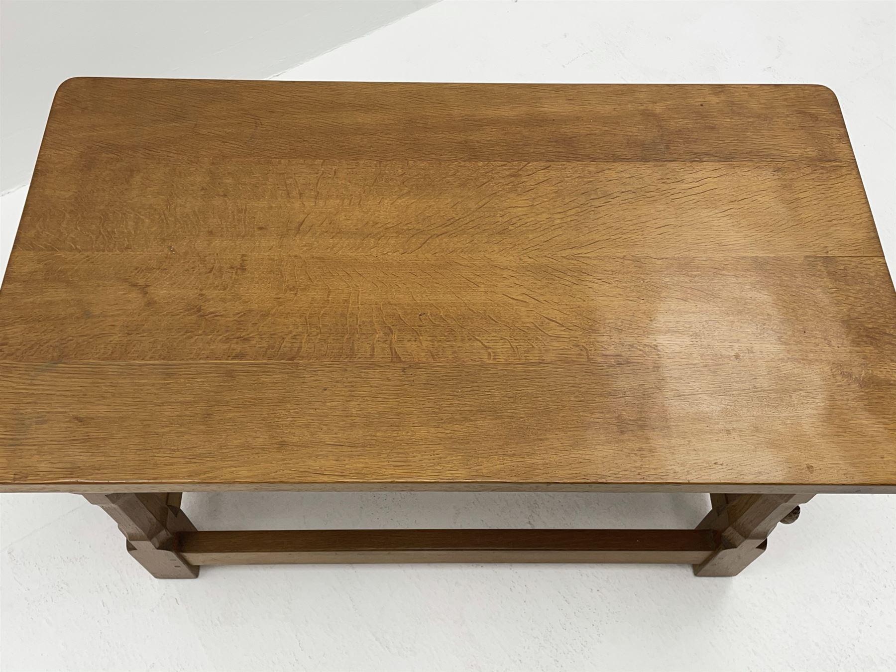 'Rabbitman' oak coffee table - Image 3 of 4
