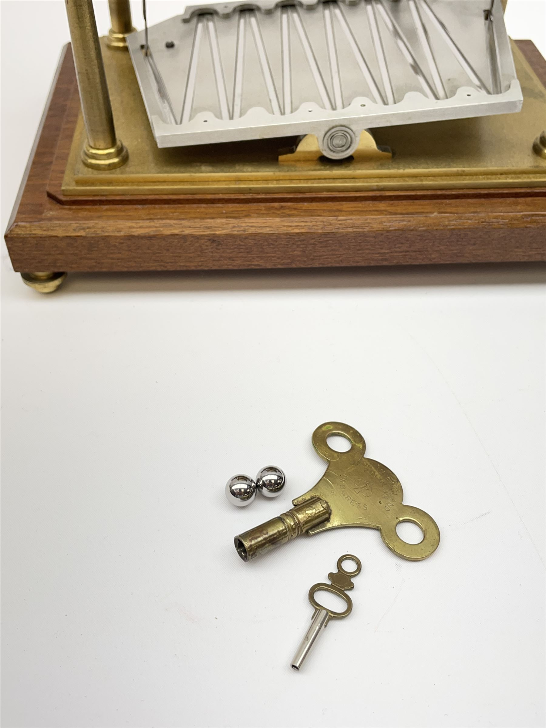 Mid 20th century 'Congreve' rolling ball clock - Image 8 of 9