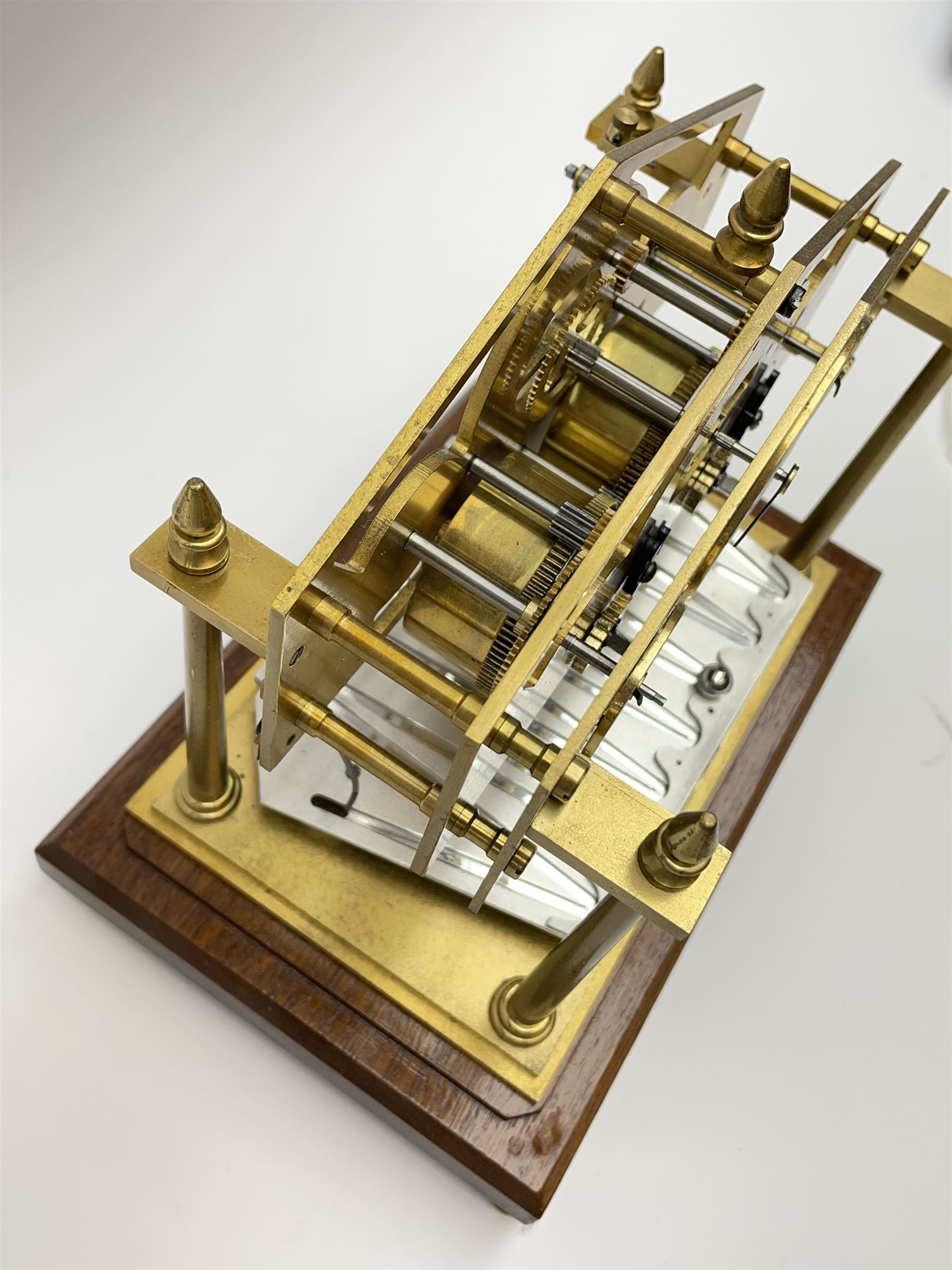 Mid 20th century 'Congreve' rolling ball clock - Image 6 of 9