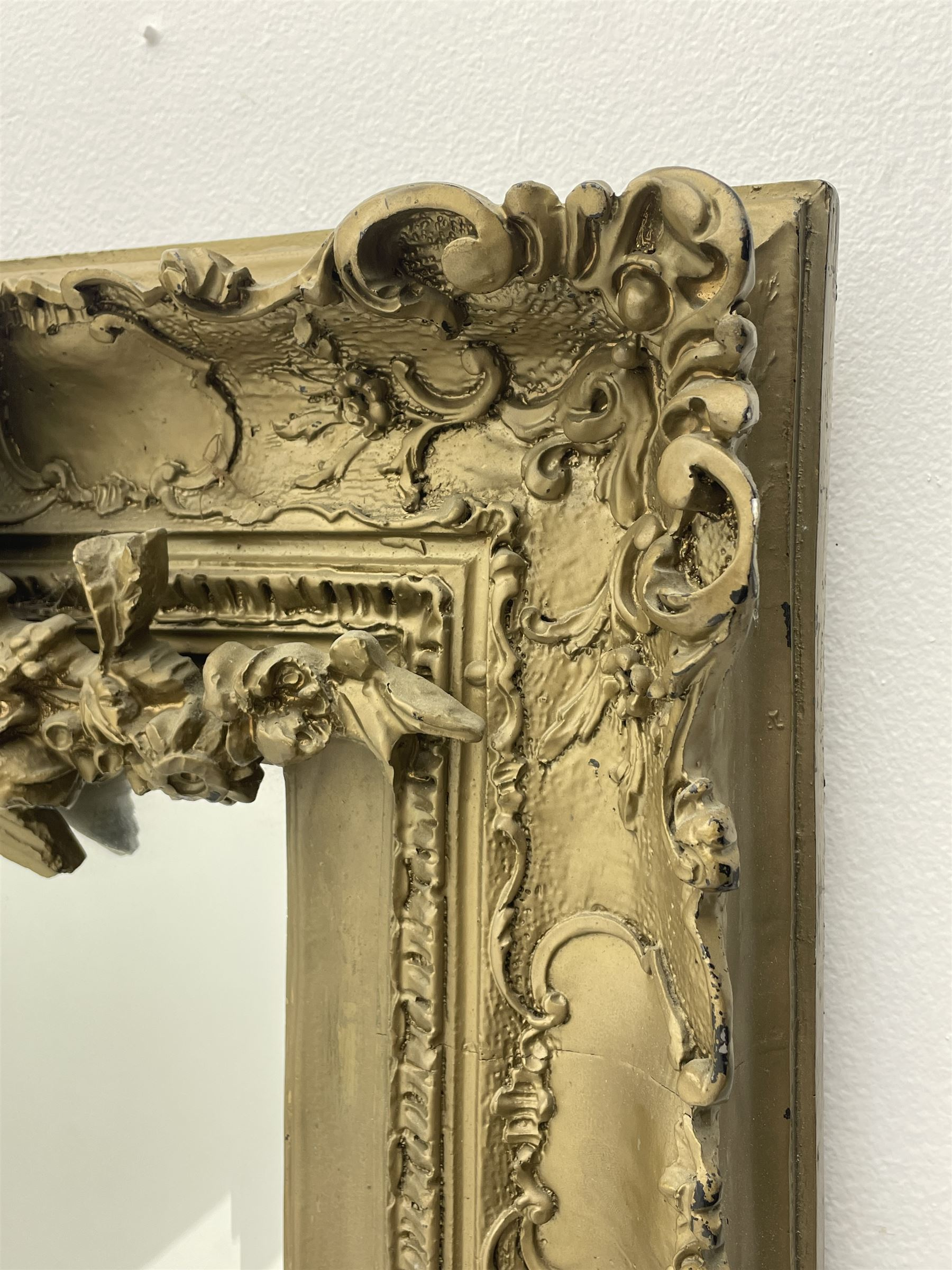Victorian style gilt framed mirror - Image 5 of 8