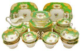 19th century Minton tea set