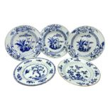 Three late 18th/early 19th century Chinese export dishes