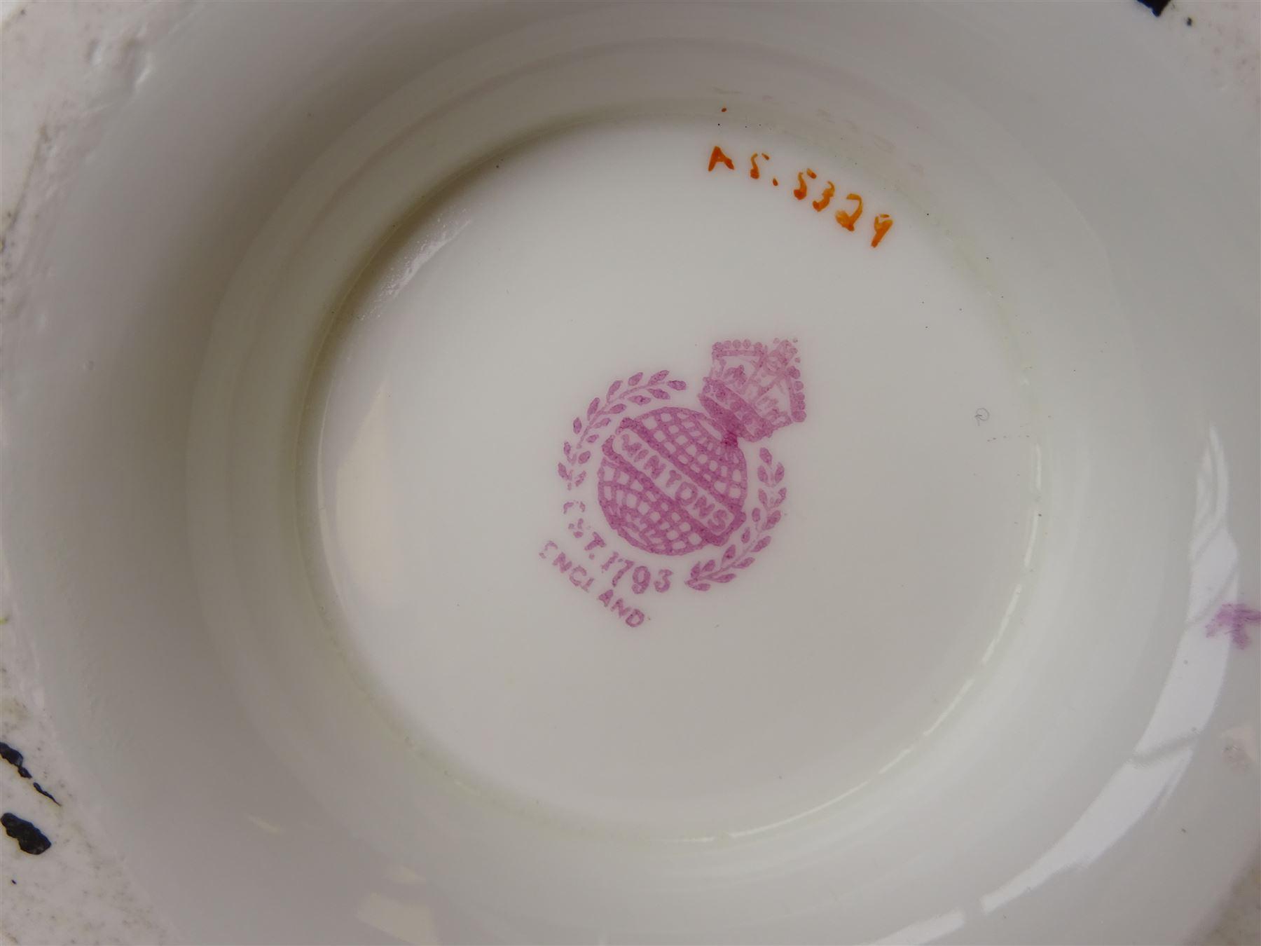 19th century Minton tea set - Image 11 of 12