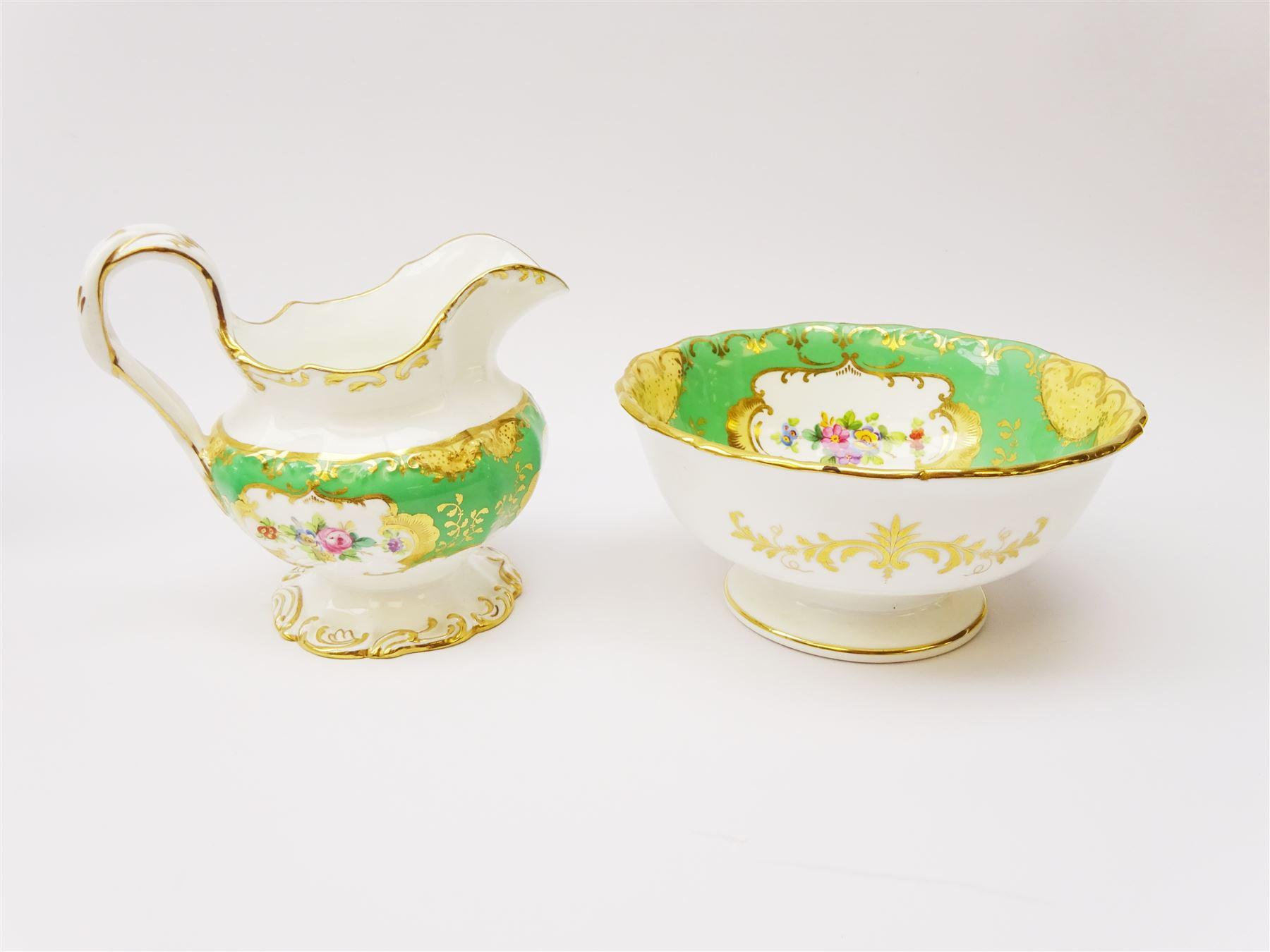 19th century Minton tea set - Image 9 of 12