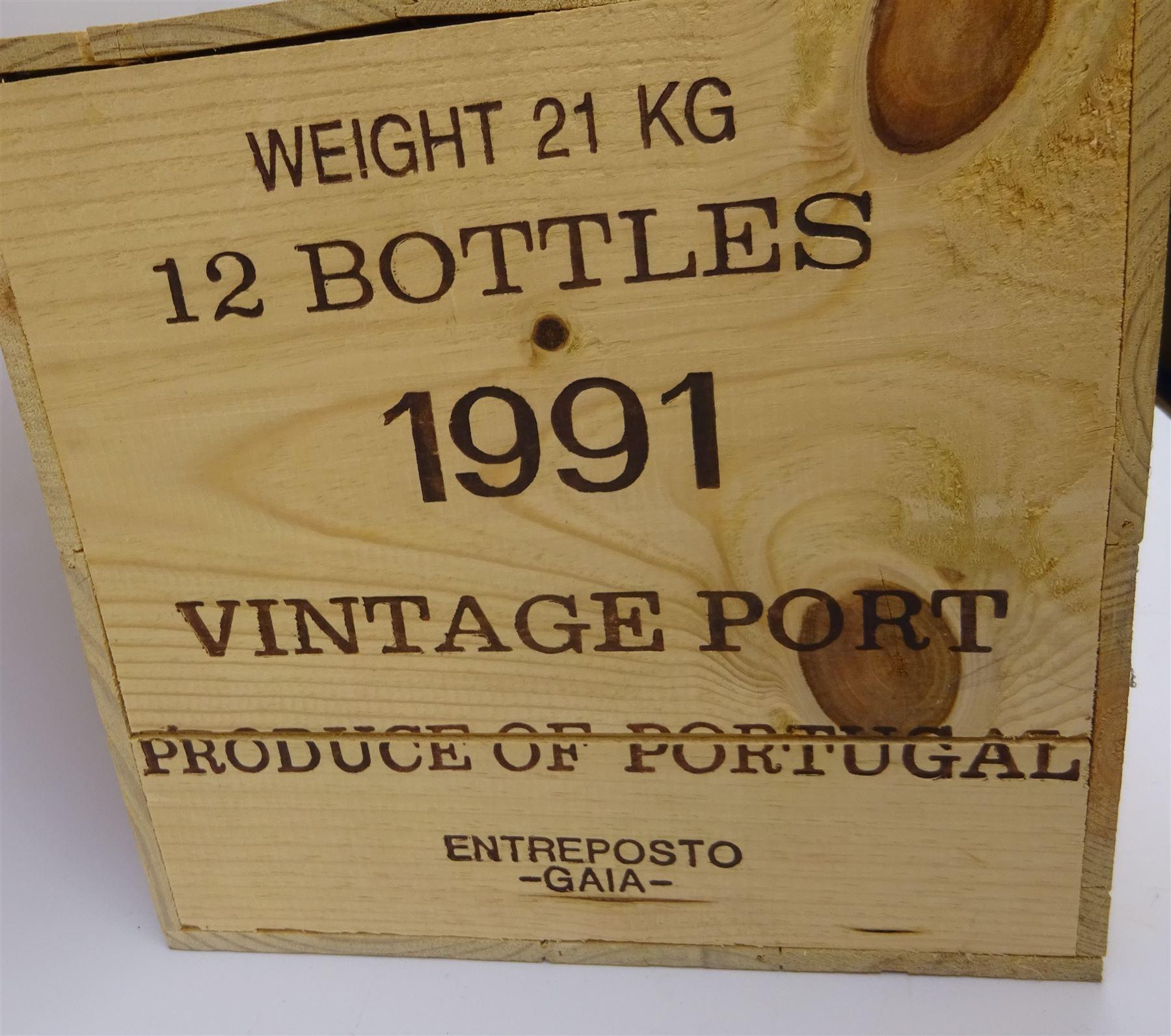 Warre's 1991 vintage port - Image 3 of 3
