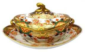 Early 19th century Spode sauce tureen