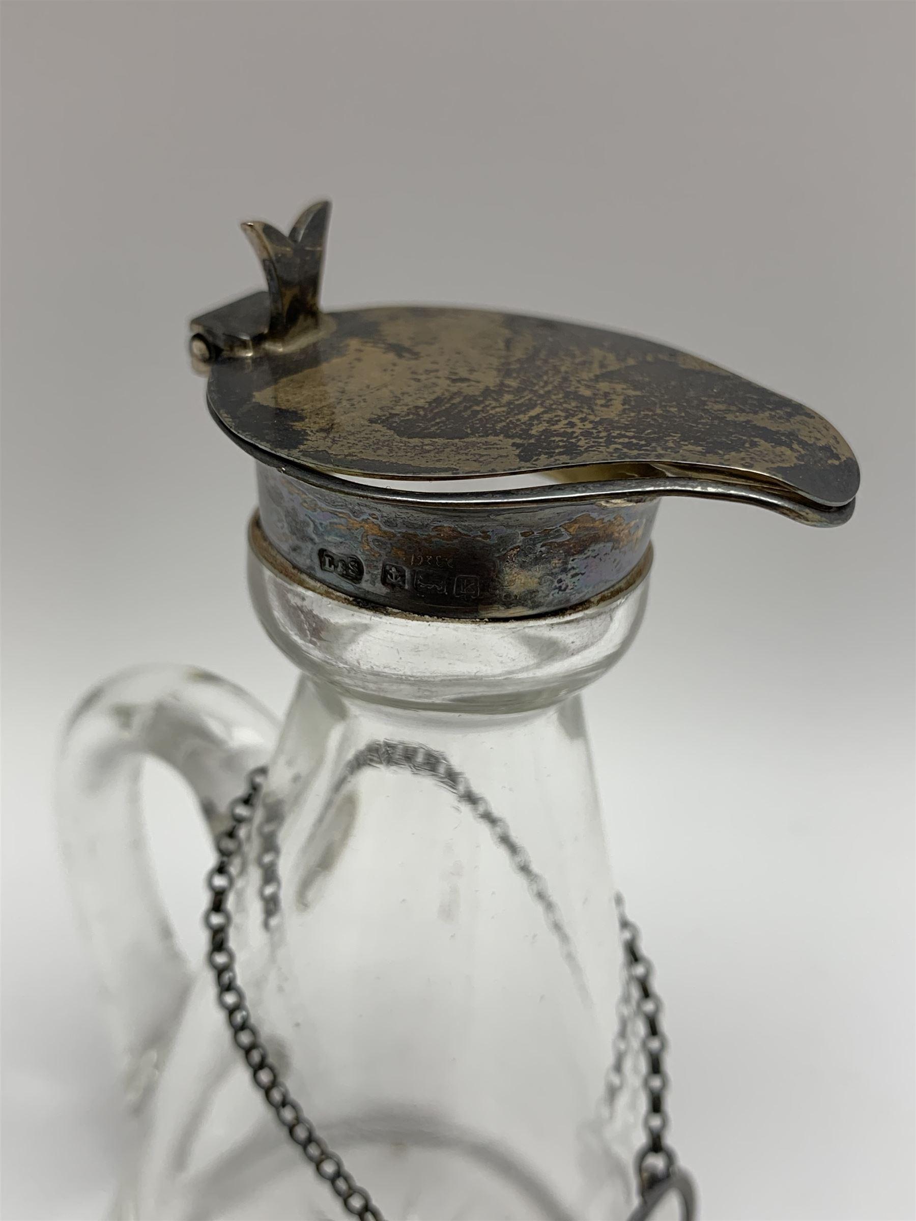 Edwardian silver mounted whisky noggin - Image 3 of 7