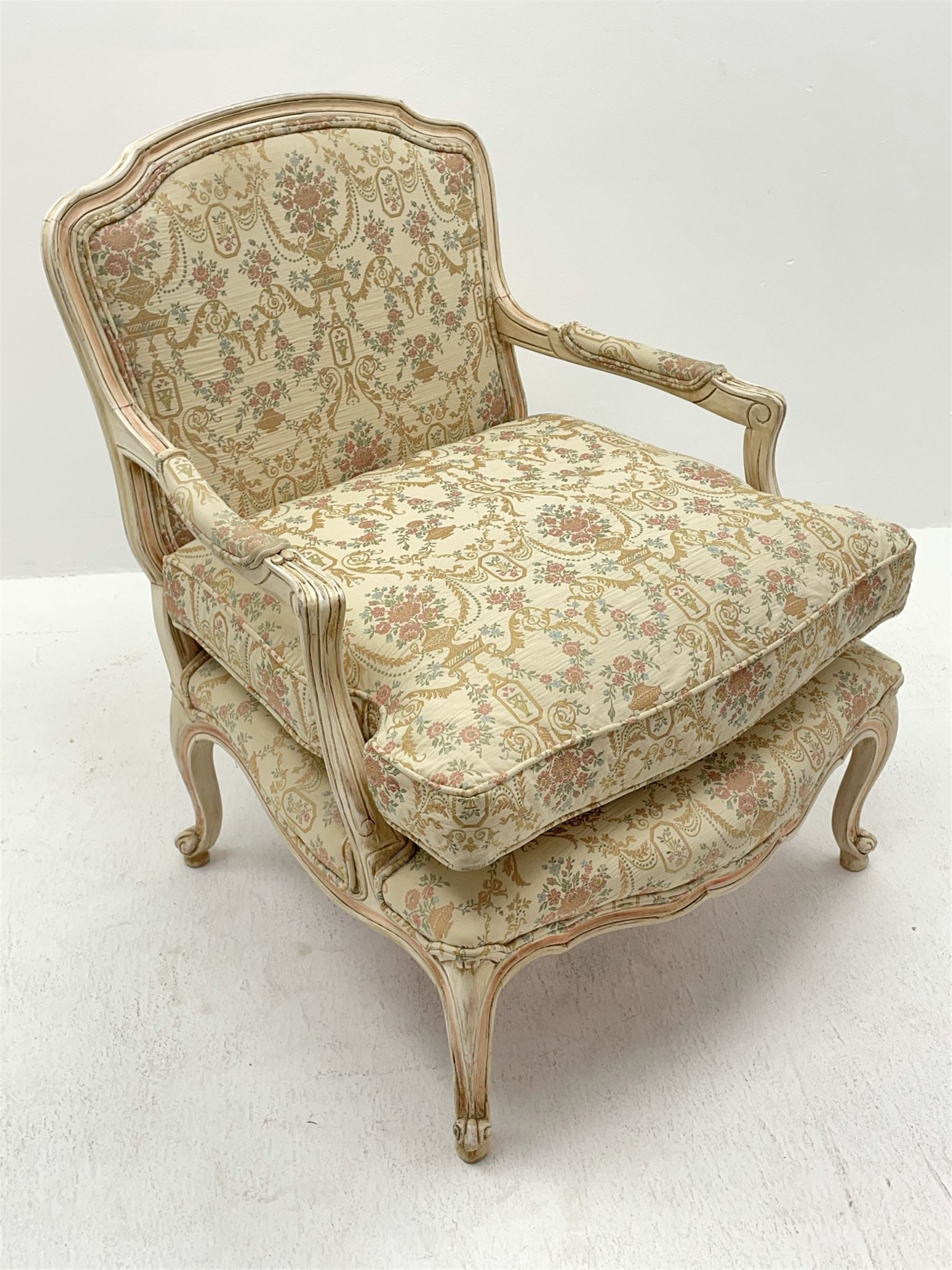 French style armchair - Image 3 of 6
