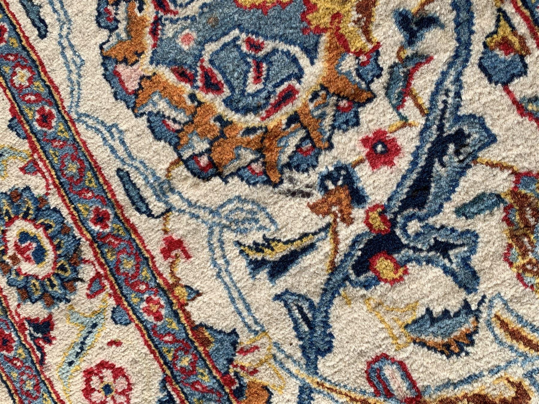 Large Fine Persian Kashan rug - Image 3 of 11