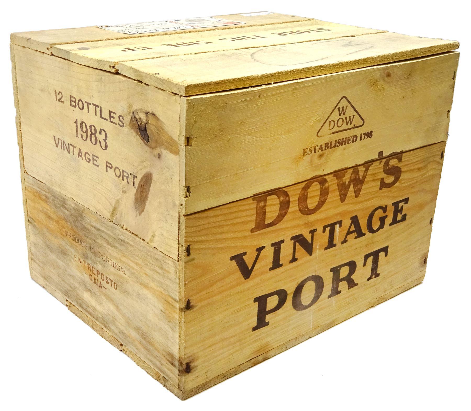 Dow's 1983 vintage port