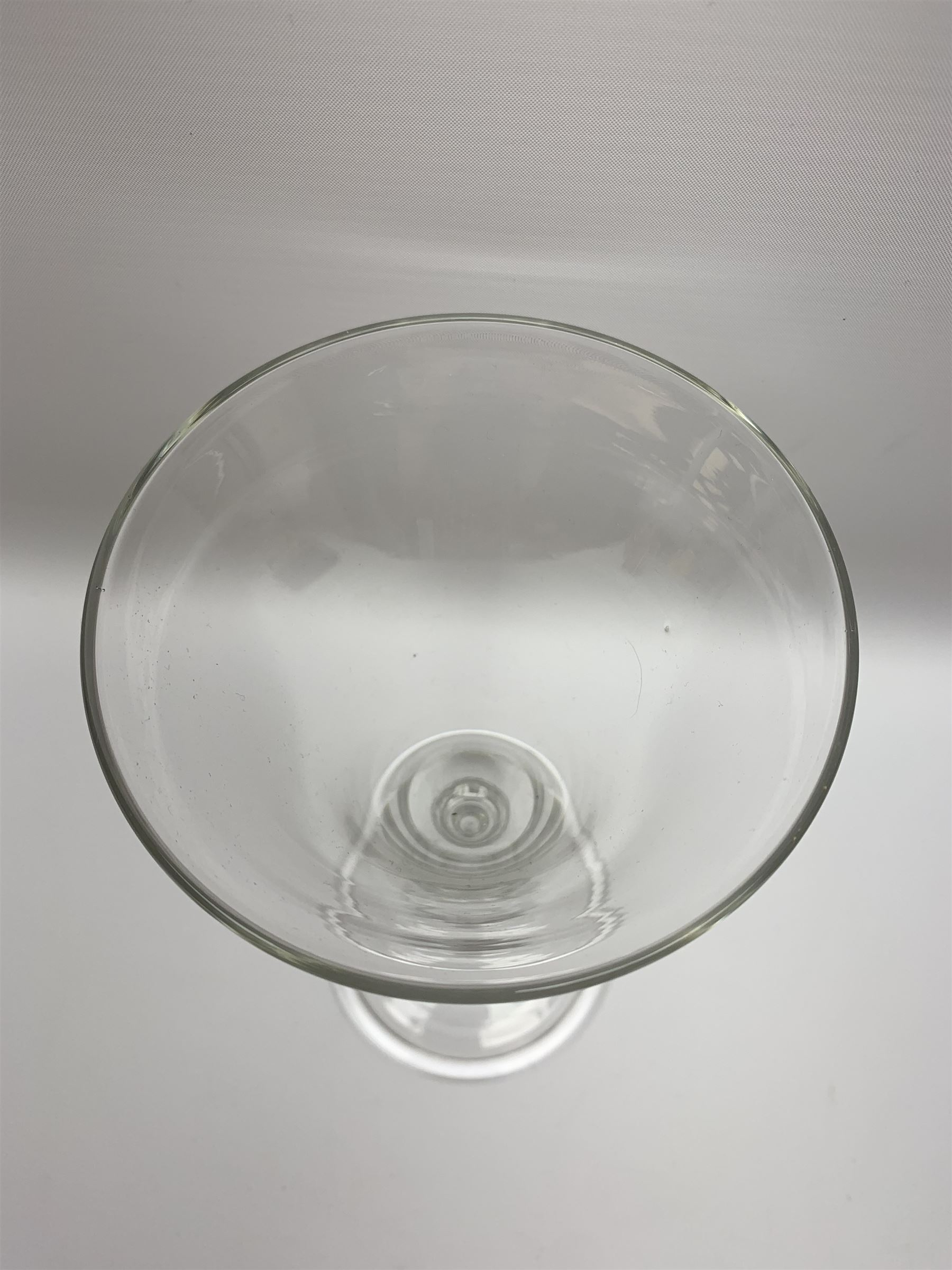 Large 18th century style drinking glass - Image 2 of 4