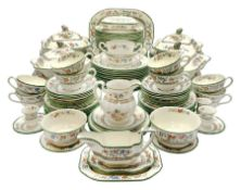 Extensive collection of Copeland Spode dinner and tea wares