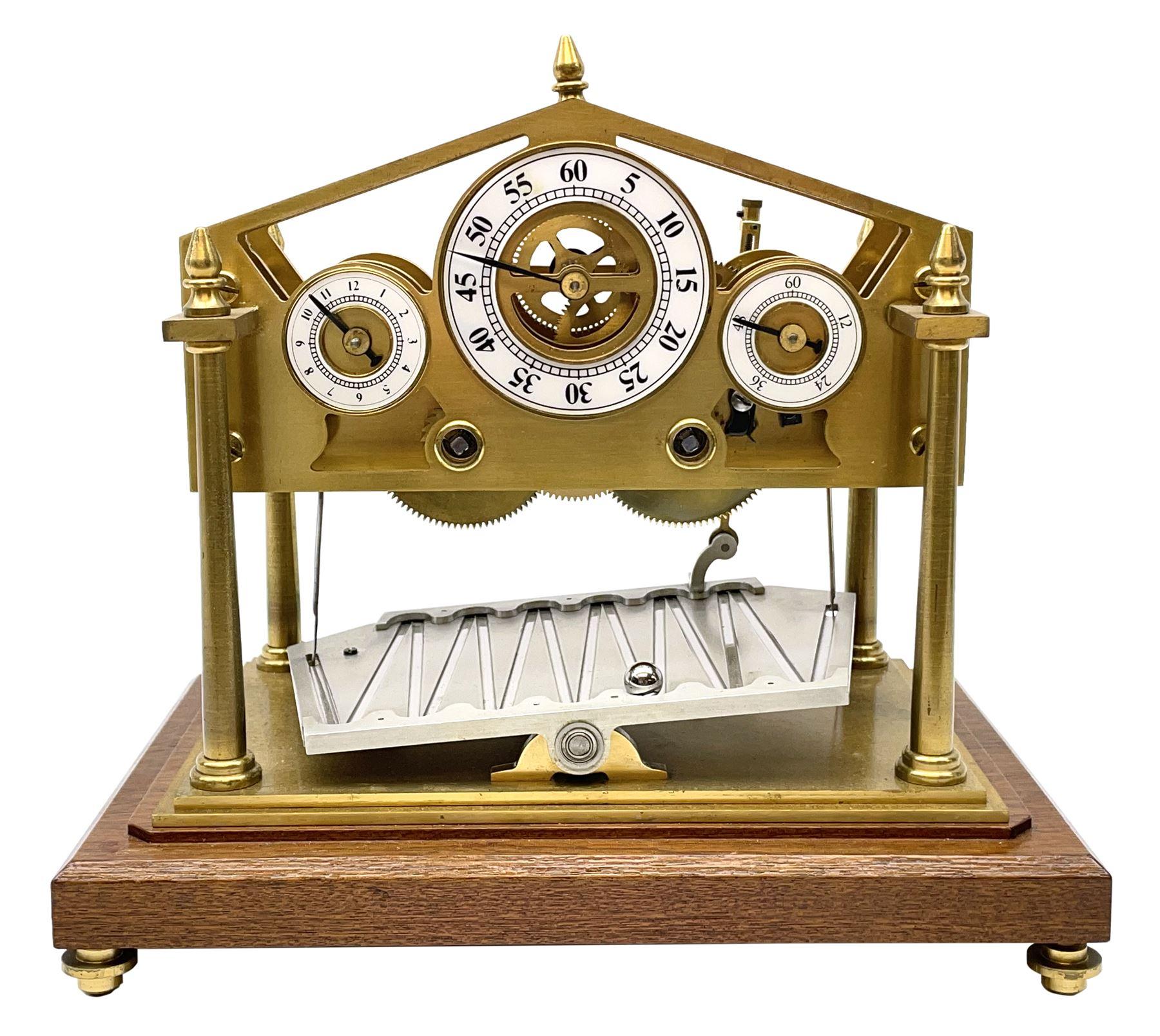 Mid 20th century 'Congreve' rolling ball clock