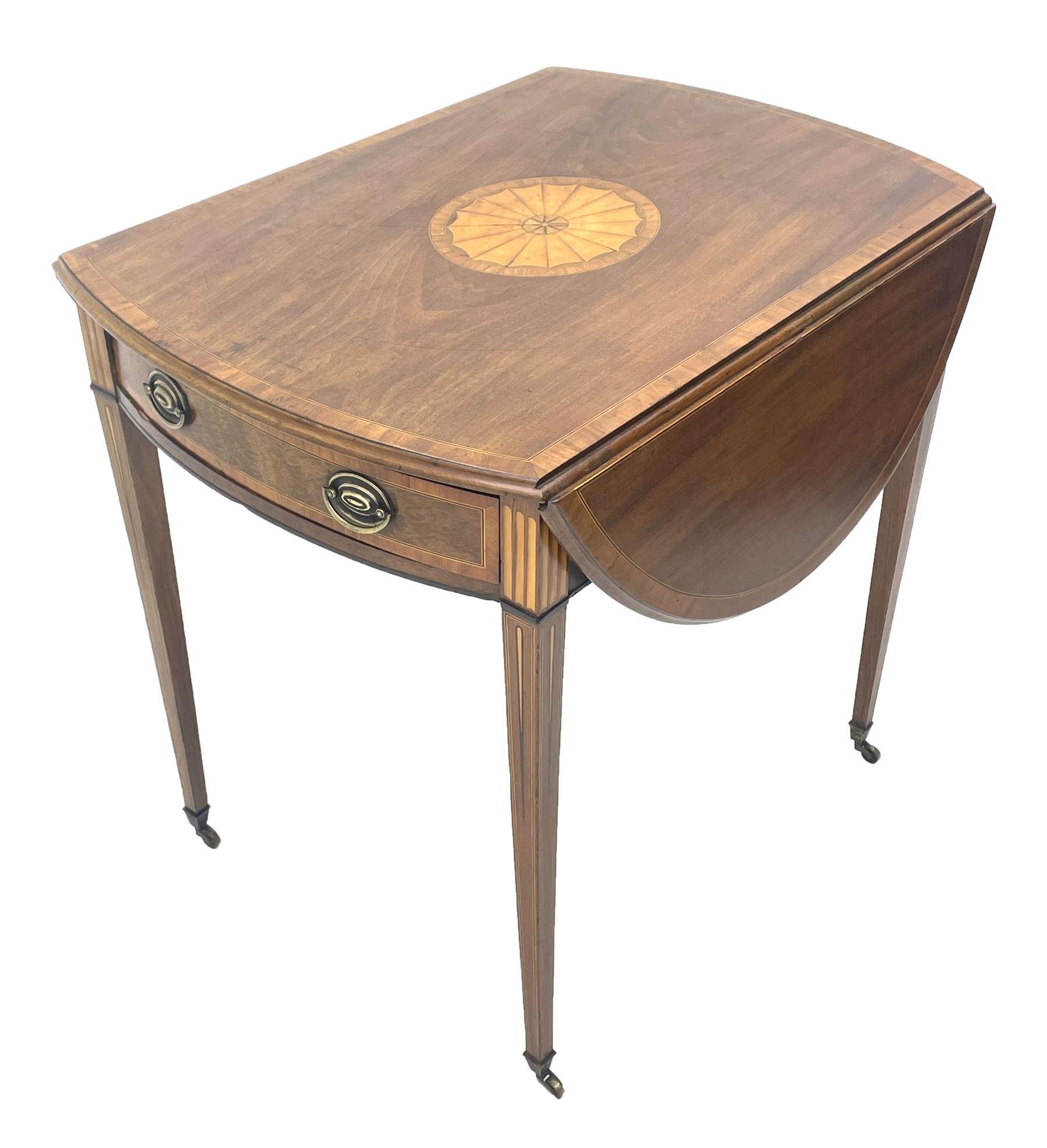 Sheraton period mahogany Pembroke table