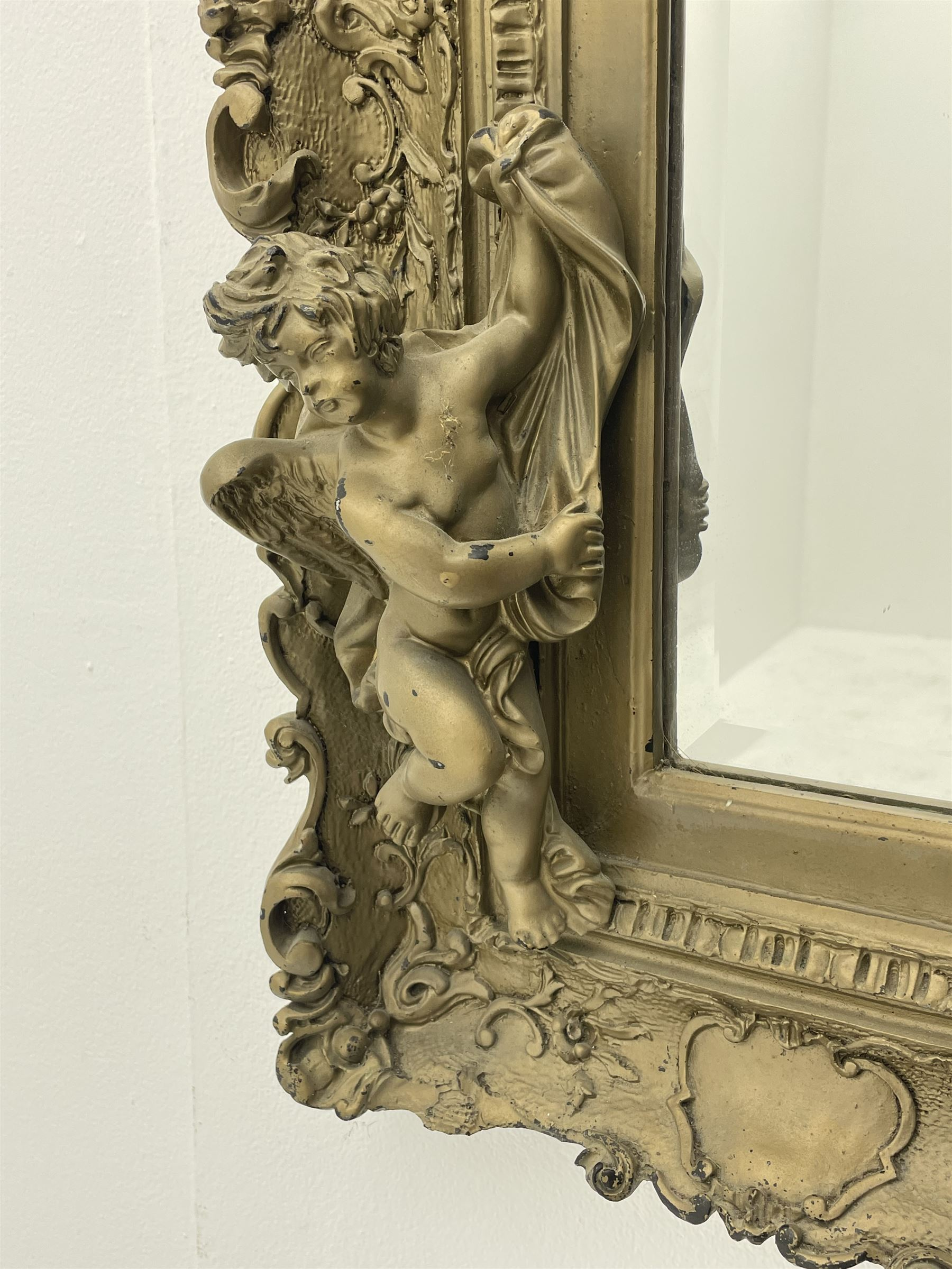 Victorian style gilt framed mirror - Image 3 of 8