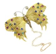 18ct gold butterfly