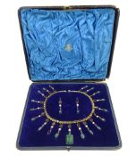 19th/20th century costume pendant necklace