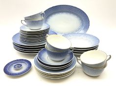 A group of Royal Copenhagen and Bing and Grondahl tea and dinner wares