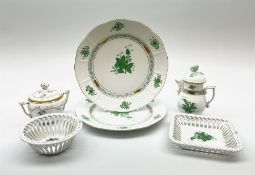 A group of Herend hand painted porcelain