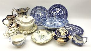 A group of Victorian and later ceramics