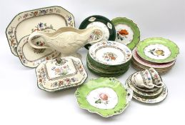 A collection of Victorian ceramics