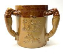 A Doulton Lambeth stoneware tyg