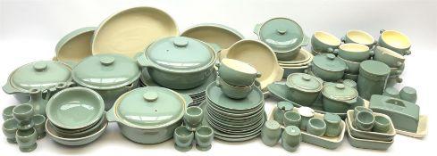 Denby Manor Green pattern dinner ware