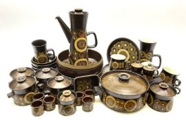 Denby Arabesque pattern tea and dinner wares