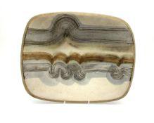 A Keith Hall Llandaff Studio Pottery dish