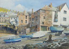 Frank McNichol (British 20th century): 'Summer Morning Port St Isaac'